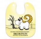 Honeycorns Einhorn Babylätzchen mit Sternzeichen Skorpion Motiv