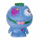 Mini Monster Stressball in blau mit Knopfauge