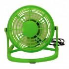 Mini Ventilator mit USB in grün