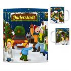 Duderstadt, Niedersachsen Weihnachtsmarkt Kaffeebecher