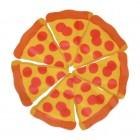 Salami Pizza Pflaster im 18er Set