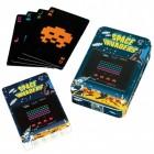 Space Invaders Spielkarten im 54er Set in schöner Blechdose