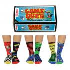Game Over Oddsocks Socken in 30,5-39 im 6er Set