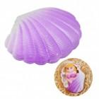 Züchte eine Meerjungfrau Scherzartikel in lila Muschel