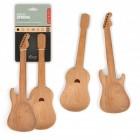 Salatbesteck Gitarre - Holzlöffel Set in Gitarrenform