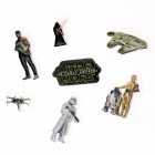 Star Wars 3D Sticker Variante 2 im 7er Set