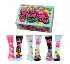 Go Flamingo Oddsocks Socken in 37-42 im 6er Set