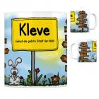 Kleve, Niederrhein - Einfach die geilste Stadt der Welt Kaffeebecher