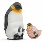 Pinguin Stressball mit Jungtier