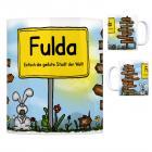 Fulda - Einfach die geilste Stadt der Welt Kaffeebecher