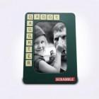 Scrabble Bilderrahmen mit 60 magnetischen Buchstaben