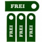 Frei Türhänger in grün im 4er Set