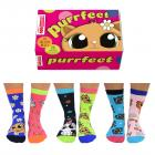 Kätzchen Purrfect Oddsocks Socken in 37-42 im 6er Set
