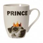 Prince Tasse mit Hund aus Porzellan
