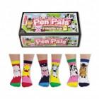 Verrückte Tierfreunde Socken mit süßen Tieren im 6er Set