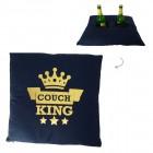 Couch King Kissen mit zwei Fächern
