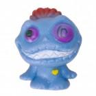 Mini Monster Stressball in blau mit Crazy Eyes