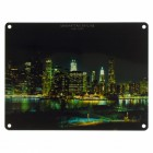 Das Manhattan Skyline Metallschild in 15x20 cm