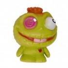 Mini Monster Stressball in grün mit Knopfauge
