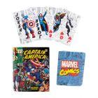 Marvel Superhelden Comicbuch Spielkarten in schöner Blechdose