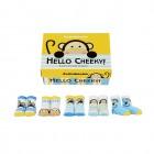 Freches Äffchen Cucamelon Socken für Kleinkinder (5 Paar)