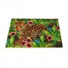 Leopard Fußmatte