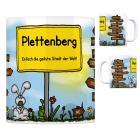 Plettenberg - Einfach die geilste Stadt der Welt Kaffeebecher