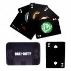 Call of Duty Spielkarten im 54er Set in schöner Blechdose