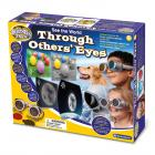 Sieh die Welt mit anderen Augen Brille mit 22 Linsen