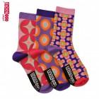 Die verrückten Sixty Socken für Mädchen im 3er Set