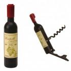 Weinflasche Flaschenöffner mit Korkenzieher