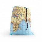 Weltkarte Wäschesack