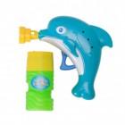 Delfin Seifenblasenpistole mit 60 ml Seifenlauge