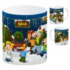 Lübeck Weihnachtsmarkt Kaffeebecher
