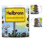 Heilbronn (Neckar) - Einfach die geilste Stadt der Welt Kaffeebecher