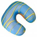 Blaubeer-Donut Nackenkissen