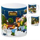 Aurich, Ostfriesland Weihnachtsmarkt Kaffeebecher