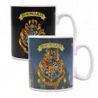 Harry Potter Hogwarts Wappen Kaffeebecher mit Wärmeeffekt
