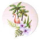 Flamingo Variante 4 Taschenspiegel