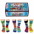 Verrückte Socken Oddsocks Mashers für Jungen im 6er Set