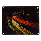 Das Traffic at Night Metallschild in 15x20 cm