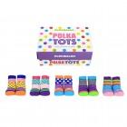 Polka Tots Cucamelon Socken für Kleinkinder (5 Paar)