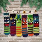 Oddsocks Socken Adventskalender mit 24 Socken für Jungen
