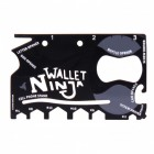 Wallet Ninja Multitool im Kreditkartenformat - 18 in 1