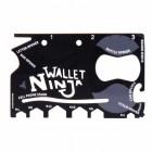 Wallet Ninja Multitool im Kreditkartenformat - 18 in 1