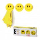 Handtuchhalter Smile 3er Set