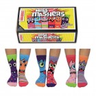 Miss Mashers Monster Oddsocks Socken in 30,5-38,5 im 6er Set