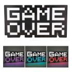 Game Over Retro Dekolampe mit Farbwechsel