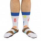Sandalen Socken für Männer im Paar