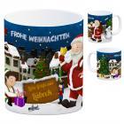 Lübeck Weihnachtsmann Kaffeebecher